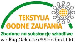 Oeko-tex - certyfikat uzyskany przez Yaro-Tex
