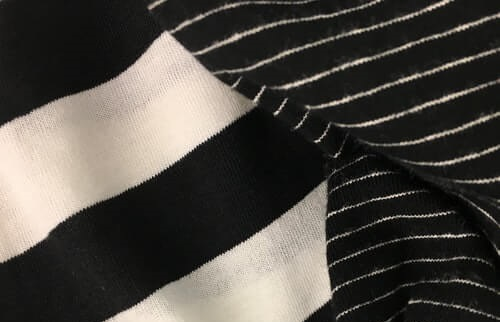 Striped print